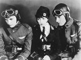 Wings  from Left: Buddy Rogers  Clara Bow  Richard Arlen  1927