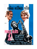 Paris Blues  from Left  Paul Newman  Sidney Poitier  Joanne Woodward  1961