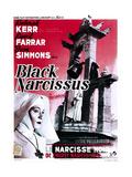 Black Narcissus  (AKA Le Narcisse Noir)  Belgian Poster  Deborah Kerr  1947