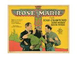 Rose-Marie  from Left  House Peters  Joan Crawford  James Murray  1928