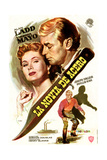 The Iron Mistress  from Left Top: Virginia Mayo  Alan Ladd; Bottom: Alan Ladd  1952