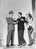 Broadway  from Left: Pat O'Brien  George Raft  Janet Blair  1942