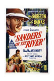 Sanders of the River  Top: Leslie Banks; Bottom from Left: Nina Mae Mckinney  Paul Robeson  1935