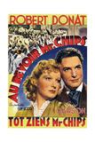 Goodbye  Mr Chips  (AKA Au Revoir Mr Chips)  from Left: Greer Garson  Robert Donat  1939