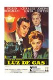 Gaslight  Top to Bottom: Joseph Cotten  Charles Boyer  Ingrid Bergman  1944