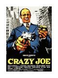 Crazy Joe  Italian Poster Art  Peter Boyle  1974