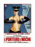 The Night Porter  (AKA Il Portiere Di Notte  AKA El Portero De Noche)  Spanish Poster Art  1974