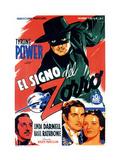 The Mark of Zorro  (AKA El Signo Del Zorro)  1940
