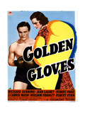 Golden Gloves  from Left  Richard Denning  Jeanne Cagney  1940