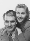 Rebecca  from Left: Laurence Olivier  Joan Fontaine  1940