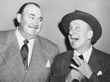From Left: Paul Whiteman  Jimmy Durante  Late 1940s