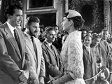 Roman Holiday  Gregory Peck  Eddie Albert  Audrey Hepburn  1953