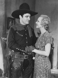 Destry Rides Again  from Left: Tom Mix  Claudia Dell  1932