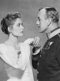 The Swan  from Left: Grace Kelly  Alec Guinness  1956