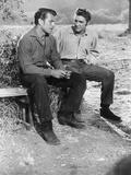 Love Me Tender  from Left: Richard Egan  Elvis Presley  1956