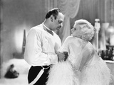 Dinner at Eight  from Left  Wallace Beery  Jean Harlow  1933