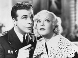 Page Miss Glory  from Left: Dick Powell  Marion Davies  1935