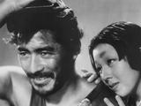 Rashomon  from Left: Toshiro Mifune  Machiko Kyo  1950