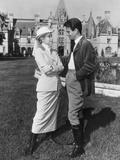 The Swan  from Left: Grace Kelly  Louis Jourdan  1956