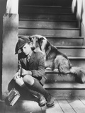Lassie Come Home  from Left: Roddy Mcdowall  Lassie  1943