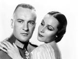 Lancer Spy  from Left: George Sanders  Dolores Del Rio  1937