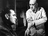 The Prisoner  from Left: Jack Hawkins  Alec Guinness  1955
