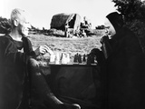 The Seventh Seal  from Left: Max Von Sydow  Bengt Ekerot  1957