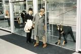 Playtime  Jacques Tati (Center  in Coat)  1967