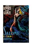 Salome  Rita Hayworth on Italian Poster Art  1953
