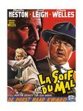 Touch of Evil  (aka La Soif Du Mal)  Janet Leigh  Charlton Heston  Orson Welles  1958