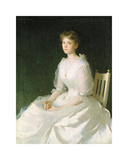 Portrait in White  1889