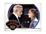 Mata Hari  from Left  Lewis Stone  Greta Garbo  1931