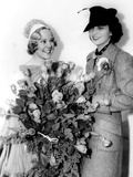 Kay Francis  Right  with Sonja Henie  after One of Henie's Ice Shows at the Polar Palace  May 1936