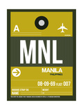 MNL Manila Luggage Tag II
