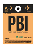PBI West Palm Beach Luggage Tag I