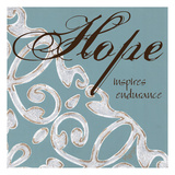 Crackle Filigree Hope