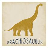 Brachiosaurus Dino Reproduction d'art