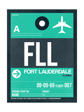 FLL Fort Lauderdale Luggage Tag II