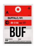 BUF Buffalo Luggage Tag I