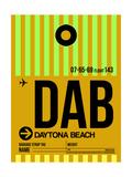 DAB Daytona Beach Luggage Tag I
