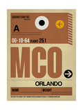MCO Orlando Luggage Tag I