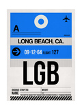 LGB Long Beach Luggage Tag I