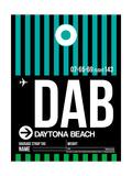 DAB Daytona Beach Luggage Tag II