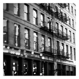 Soho Buildings BW