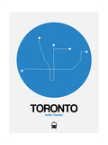 Toronto Blue Subway Map