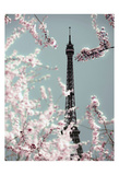 Spring Eiffel Pastel