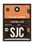 SJC San Jose Luggage Tag II