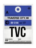 TVC Traverse City Luggage Tag I