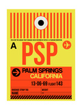 PSP Palm Springs Luggage Tag I