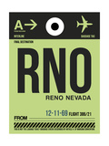 RNO Reno Luggage Tag I